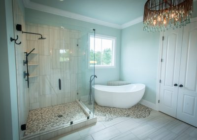 Home Builders Hendersonville Tn White Lace Master Bath