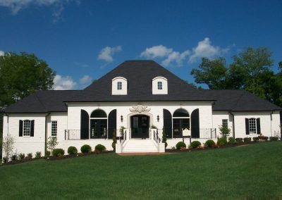 Home Builders Hendersonville Tn Woodhaven Front Exterior