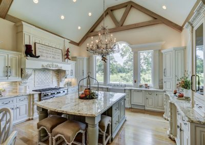 Home Builders Hendersonville Tn Angels Weep Vaulted Kitchen