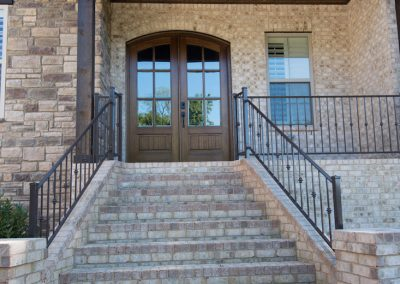 Home Builders Hendersonville Tn Tartan Court Entrance